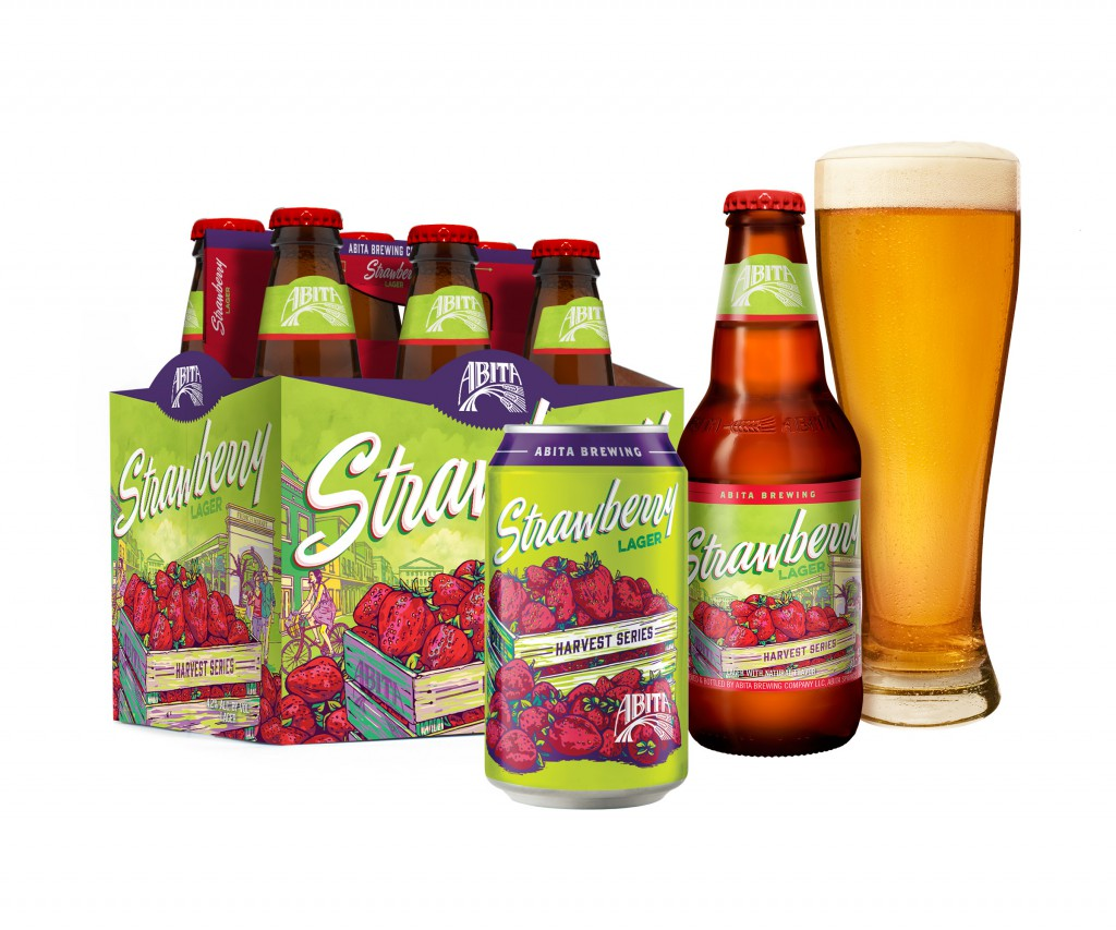 New Abita Strawberry Lager