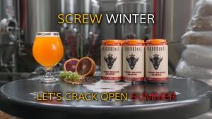 Resurgence Brewing Company Blood Orange Saison