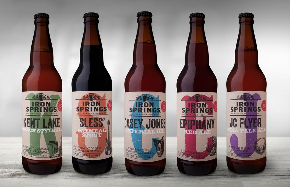 Iron Springs rolls out a whole new re-branding line of beers as well as a new seasonal release program