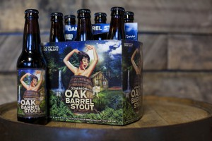 Dominion Brewing oak barrel stout