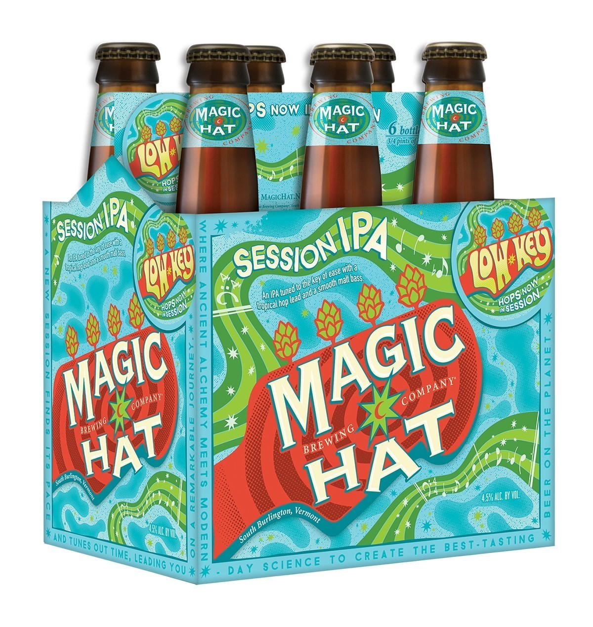 Magic Hat Adds New Low Key Session IPA To Year-Round
