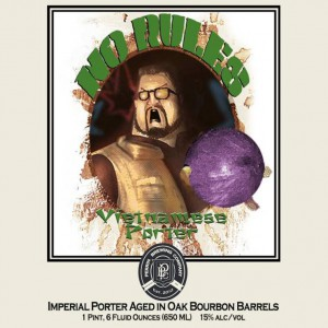 Perrin Brewing No Rules Vietnamese Porter Label