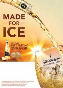 Strongbow Made for Ice