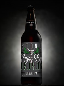 Stone Brewing Enjoy By 05.06.16 BlackIPA 22 oz bottle