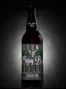 Stone Brewing Enjoy By 05.06.16 BlackIPA 22 oz bottle