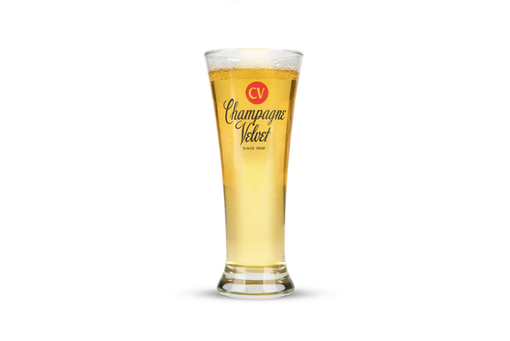 Upland Brewing Champagne Velvet glass pour