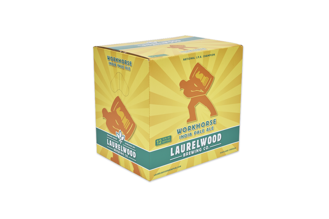 Laurelwood Brewing Launches New Packaging Format for Workhorse IPA