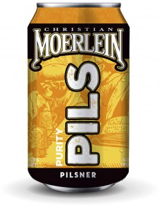 Christian Moerlein Brewing Purity Pilsner can