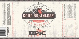 EpicBrewing Sour Brainless on Peaches