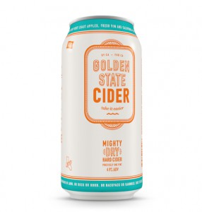 Golden State Cider Mighty Dry Can