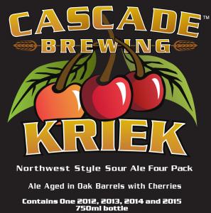 Cascade Brewing Kriek 4 Pack 2016