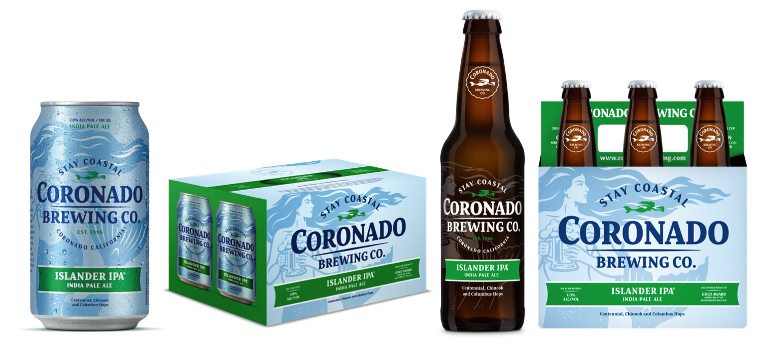 coronado brewing all new packaging