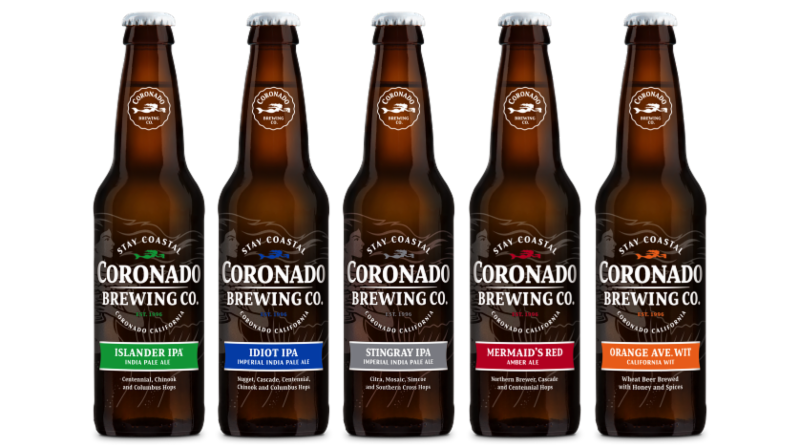 coronado brewing bottles