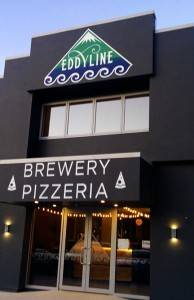 Eddyline Brewery new zealand facility and pizzeria