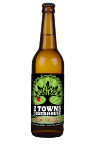 2 Towns Ciderhouse Hop and Stalk