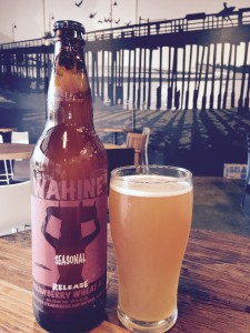 Surf Brewery Strawberry Wahine Wheat Ale