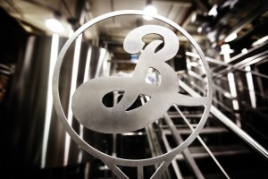 Brooklyn Brewery metal logo