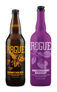Rogue Ales Honey Kolsch and Marionberry Braggot