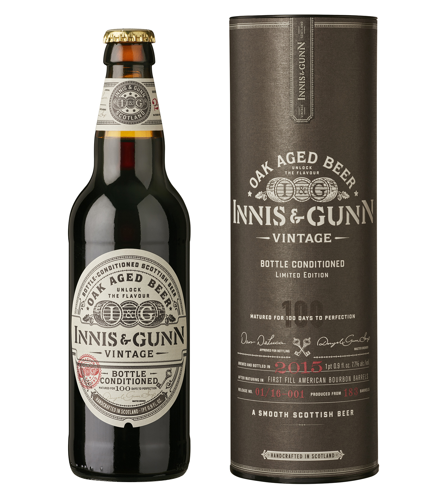Innis Amp Gunn Releases New Barrel Aged Vintage Ale