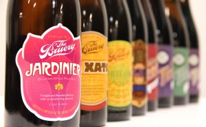 The Bruery bottles