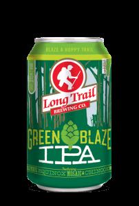 long trail green blaze IPA can