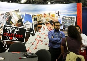 Virginia CBC Booth 2016