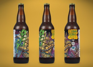 One of country's most unique beers--3 Floyds Corn King IPA--to be released next week at members-only parties