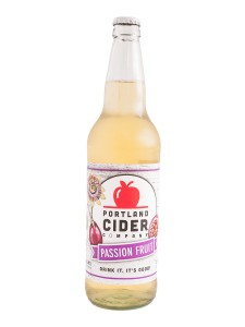 Portland Cider Company Introduces Passion Fruit Bottle with a Refreshed Look for 22oz Bottles
