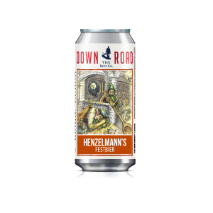 Down the Road Beer Co. announces the launch of its 10th beer and fall seasonal: Henzelmann's Festbier to debut at the Everett Village Festival on September 17!
