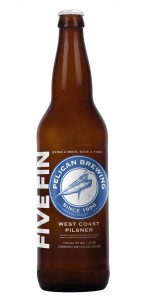 Drink a beer, save a fish: Pelican Brewing Company releases new West Coast-inspired Pilsner, Five Fin, to support salmon recovery efforts on north Oregon coast