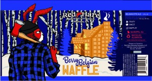 red hare belgian waffle