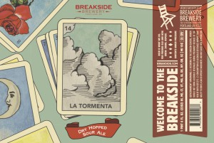 Breakside Brewery's La Tormenta dry-hopped sour returns + GABF Medals & New Logo