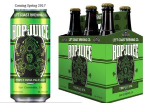 Left Coast Brewing Co. Kicks off Its Plan to Rebrand Their Existing Beer Lineup with the Release of an Update to Their Award-Winning Hop Juice Double IPA