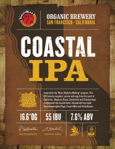 ThirstyBear & Beers Made By Walking Collaborate for the Release of COASTAL IPA!