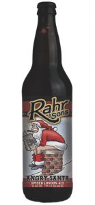 Rahr & Sons Brewing Co. releases winter beers Angry Santa & Bourbon Barrel Aged Winter Warmer