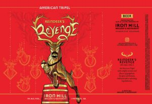 Iron Hill Brewery Releases Reindeer's Revenge in 16-oz Cans