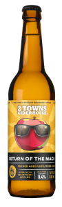 The Mack is Back! 2 Towns Ciderhouse Adds Tap Room Favorite Return of the Mack as a Limited Release