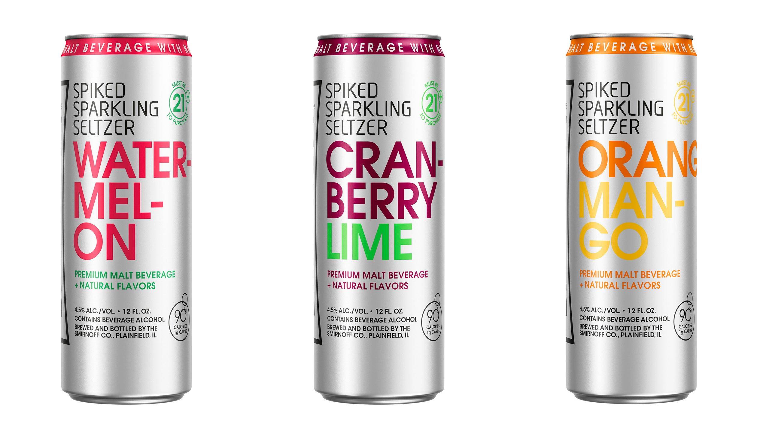 Smirnoff Introduces New Spiked Sparkling Seltzer   Brewbound