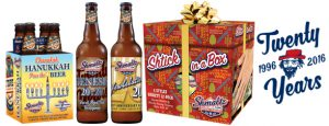 (Holiday Coverage Editorial Inquiry) He'brew Beer Releases Four Limited-Edition Offerings for Chanukah 2016!