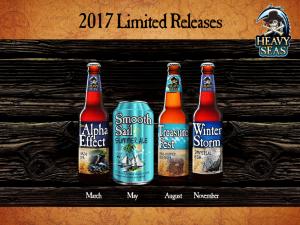 heavy seas beer 2017 limited release