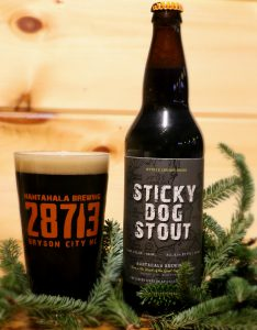 Nantahala Brewing Welcomes Colder Weather with Bottles of Sticky Dog Stout