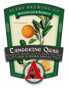Avery Brewing Releases Barrel-Aged Tangerine Quad
