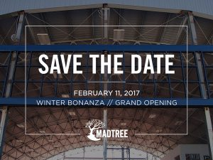 MadTree Sets Grand Opening Date for New '2.0' Brewery and Taproom