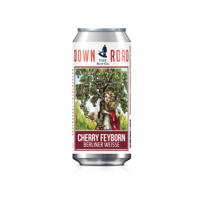 Down The Road Beer Company Announces Limited Edition Cherry Feyborn Berliner Weisse – 3 Coordinated Regional Release Parties December 15 & 16th!