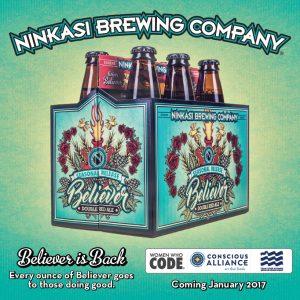 Beer Release: Enjoy Believer, Support Beer is Love