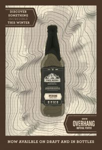 Two Beers Brewing's Overhang Imperial Porter Returns