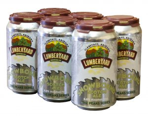 Lumberyard releases their winter seasonal: Snowbound Scotch Ale in cans!