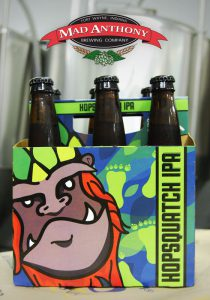 Mad Anthony Brewing Company's Hopsquatch IPA is heading to Ohio!