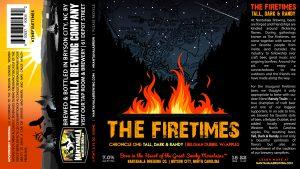 Nantahala Brewing Creates Firetimes Beer Series: Each Beer to Honor Longtime Friends of the Brewery