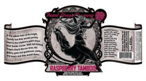 Pearl Street Brewery Releases 2017 Raspberry Tambois